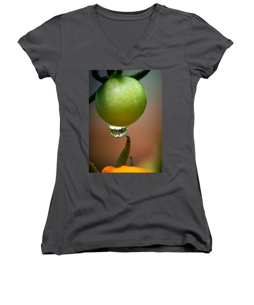Touching Worlds Women's V-Neck (Athletic Fit)