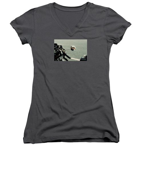 Touring With Your Honey Women's V-Neck (Athletic Fit)