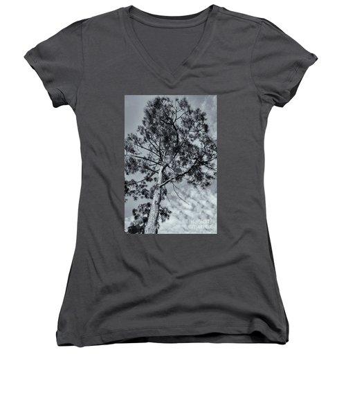 Towering Women's V-Neck T-Shirt