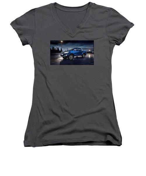 Toyota Hilux Women's V-Neck