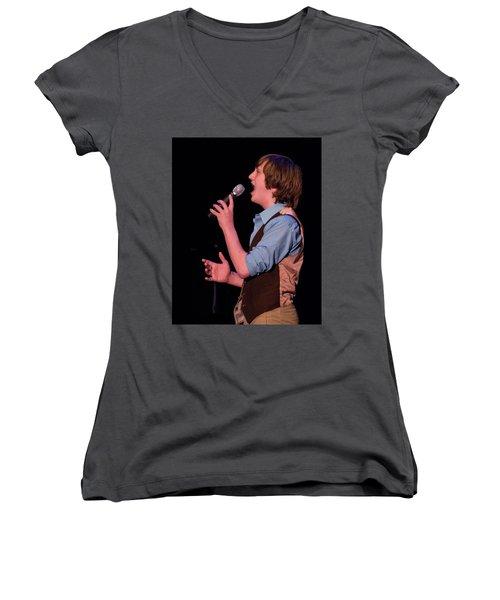 Tpa094 Women's V-Neck T-Shirt