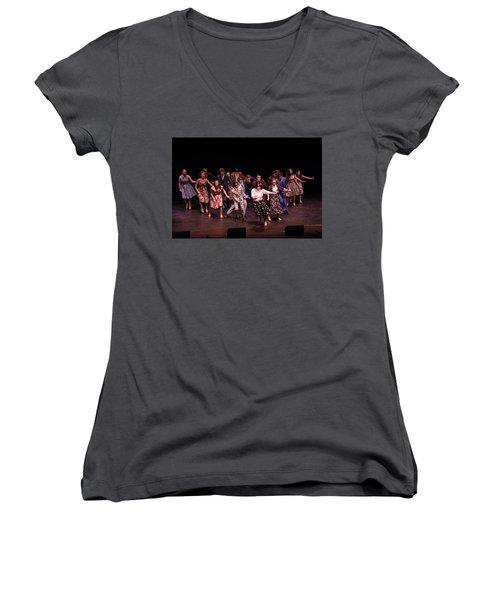 Tpa096 Women's V-Neck T-Shirt