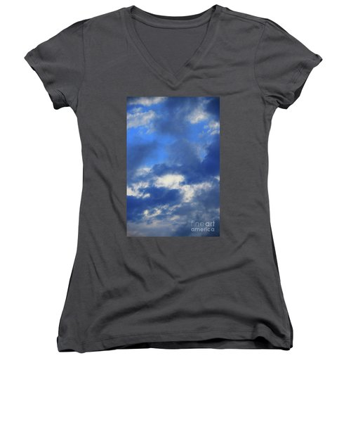 Trade Winds Women's V-Neck T-Shirt (Junior Cut) by Jesse Ciazza