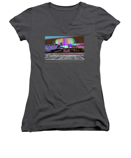 Train Parked Women's V-Neck (Athletic Fit)