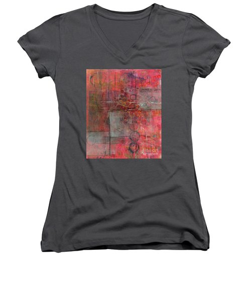 Transparency Women's V-Neck (Athletic Fit)