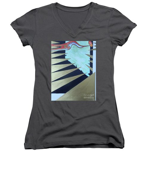Trapped Women's V-Neck
