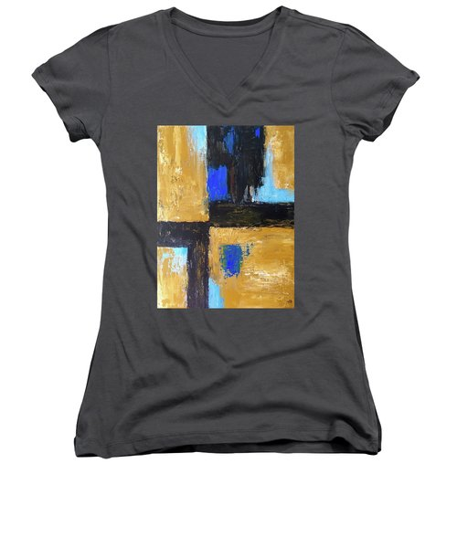 Trapped Women's V-Neck T-Shirt