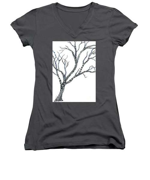 Tree Of Strength Women's V-Neck