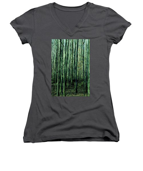 Treez Green Women's V-Neck