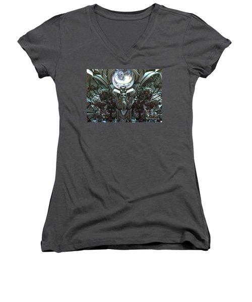 Tribal Symbols  Women's V-Neck T-Shirt