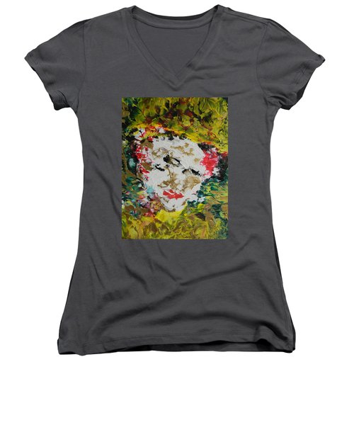 Trinity Panel Three Women's V-Neck
