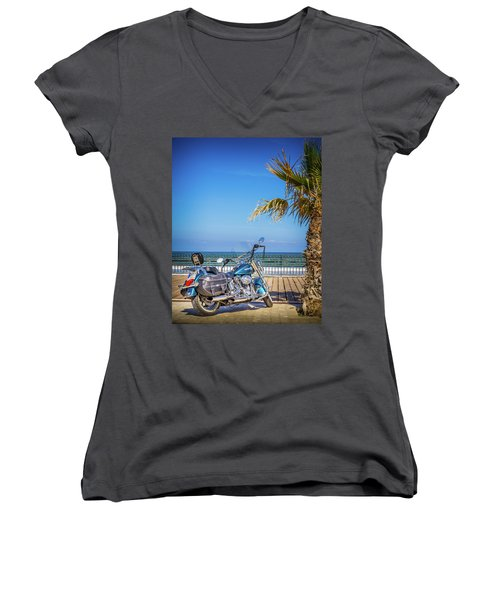 Trip To The Sea. Women's V-Neck