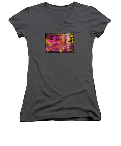 Triple Exposure Women's V-Neck T-Shirt