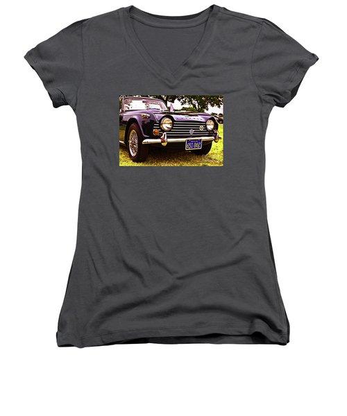 Triumph Women's V-Neck T-Shirt