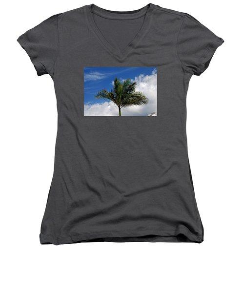 Tropical Breeze Women's V-Neck