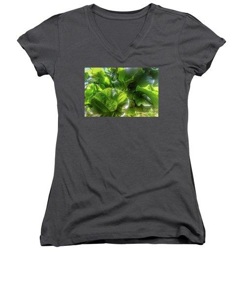 Tropical Forest Women's V-Neck