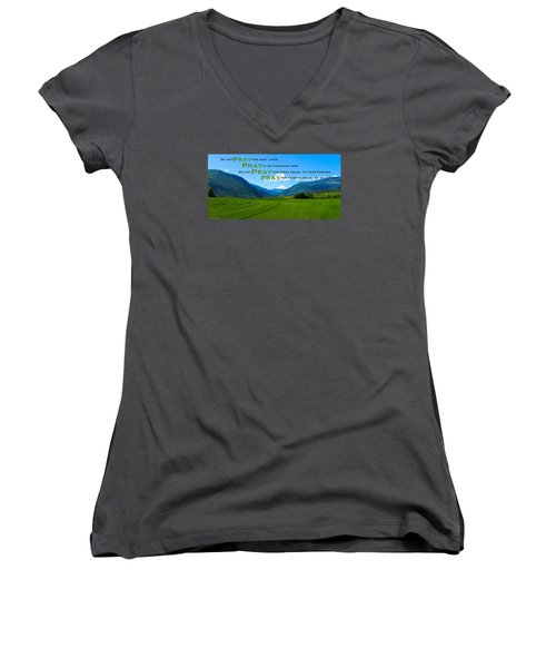 Truth In Fellowship Women's V-Neck (Athletic Fit)