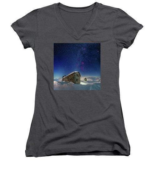 Tschuggen Observatory Women's V-Neck