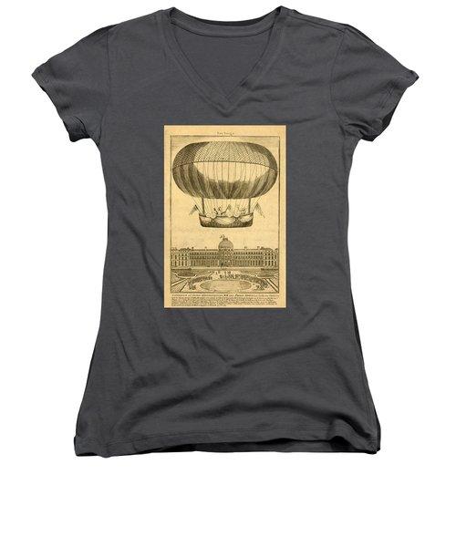Tuileries Garden, Paris Women's V-Neck T-Shirt