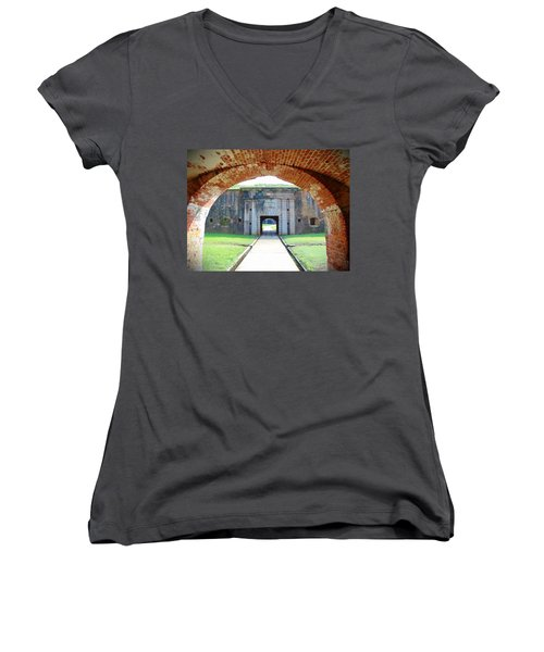Tunnel Vision Women's V-Neck