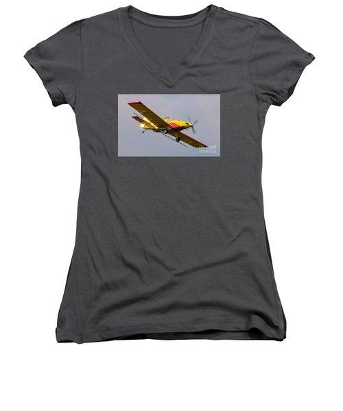Turbo Thrush 4 Women's V-Neck T-Shirt