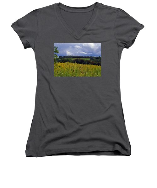 Turning The Page Women's V-Neck (Athletic Fit)