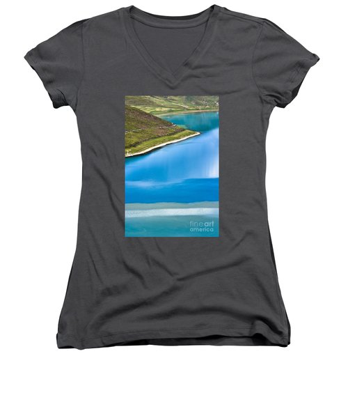Turquoise Water Women's V-Neck