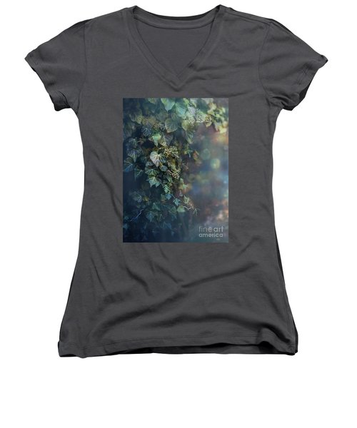 Twilight And Shadow Women's V-Neck T-Shirt