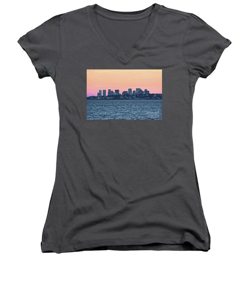 Twilight Boston Women's V-Neck