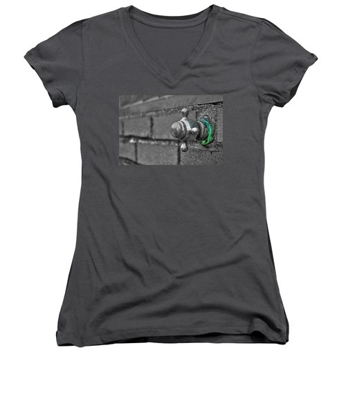 Twist And Turn Women's V-Neck T-Shirt