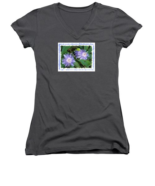 Two Of A Kind  Women's V-Neck (Athletic Fit)