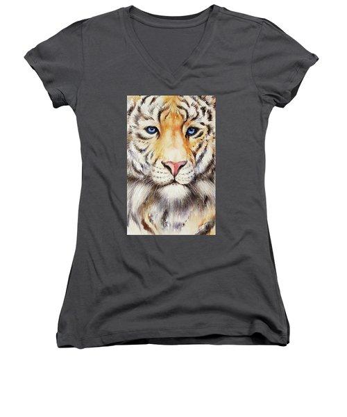 Tyger Tyger Women's V-Neck T-Shirt