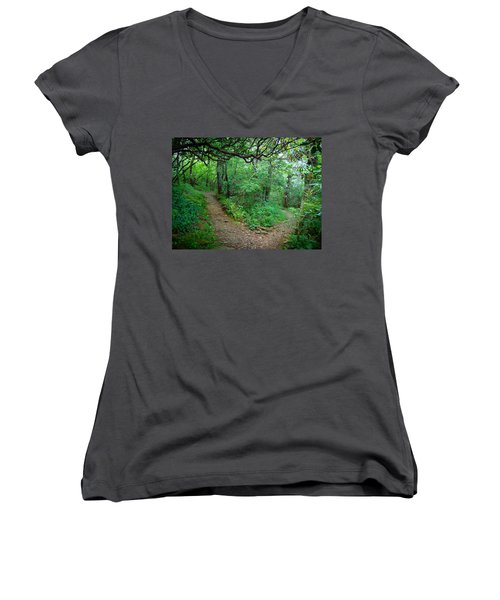 U-turn Women's V-Neck