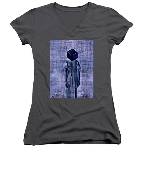 Unacknowledged Women's V-Neck T-Shirt
