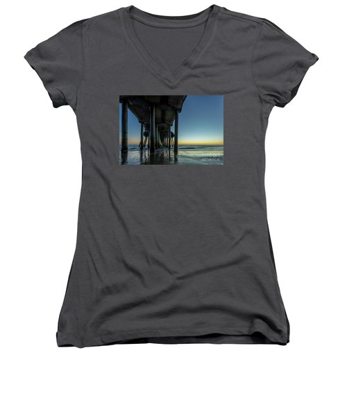 Under The Pier Women's V-Neck