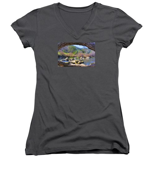 Under The Arch Women's V-Neck T-Shirt