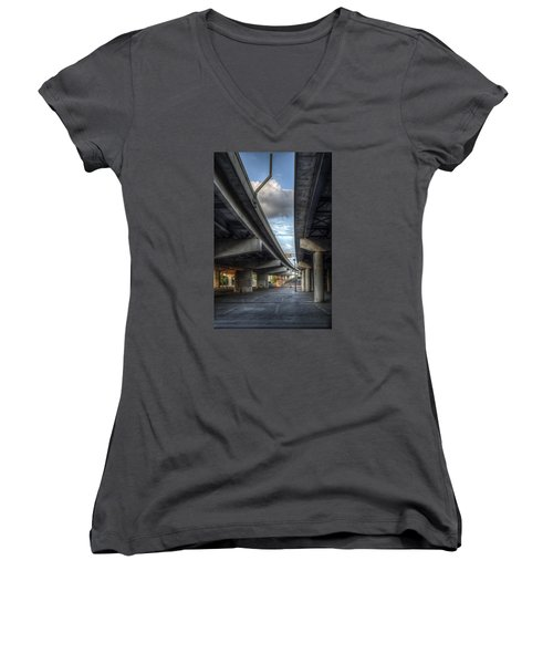 Under The Overpass II Women's V-Neck
