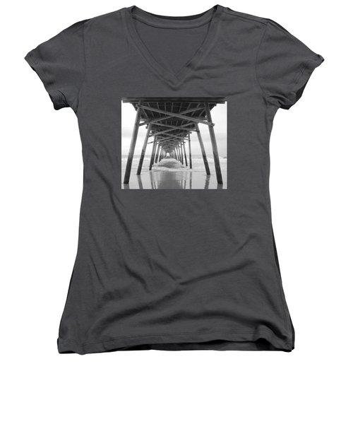 Under The Pier Women's V-Neck T-Shirt