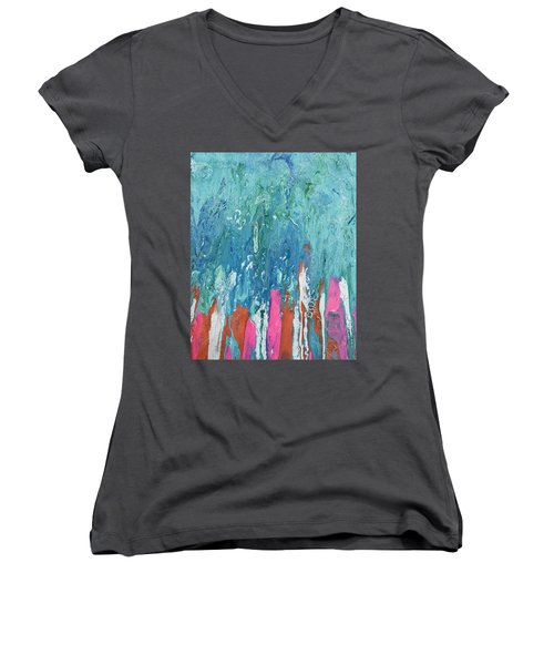 Under The Sea Women's V-Neck (Athletic Fit)
