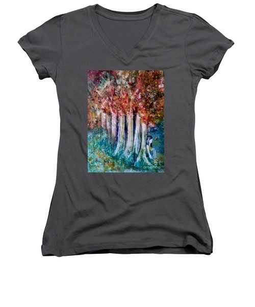 Under The Trees Women's V-Neck
