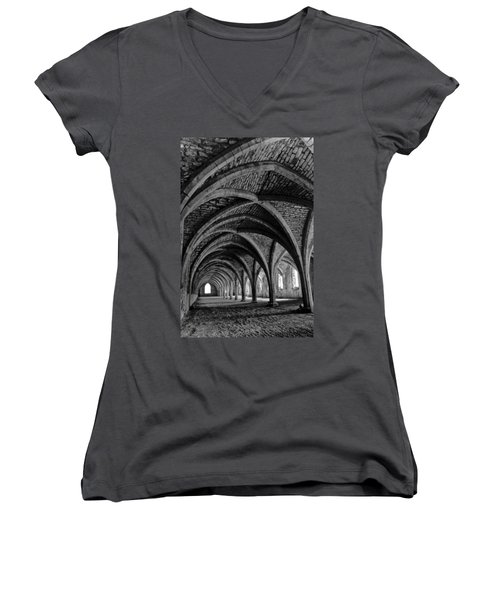 Under The Vaults. Vertical. Women's V-Neck
