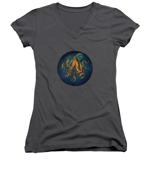 Underwater Dream Iv Women's V-Neck (Athletic Fit)