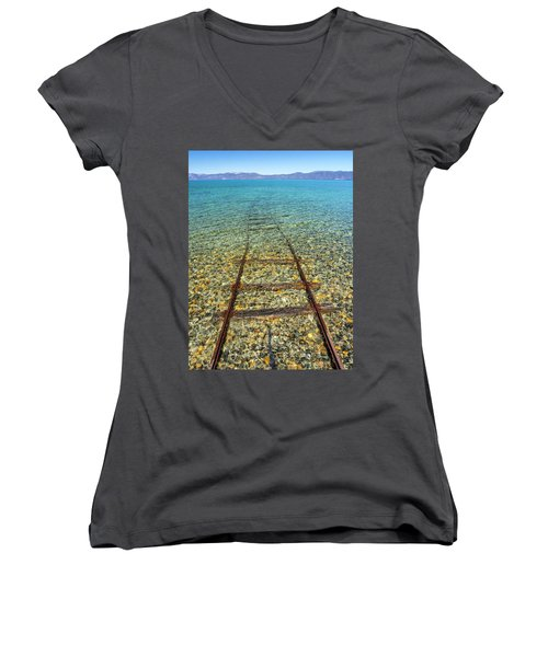 Underwater Railroad Women's V-Neck
