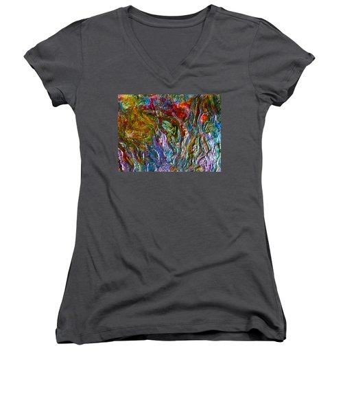 Underwater Seascape Women's V-Neck