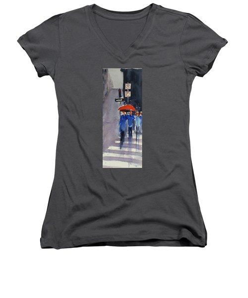 Union Square2 Women's V-Neck T-Shirt