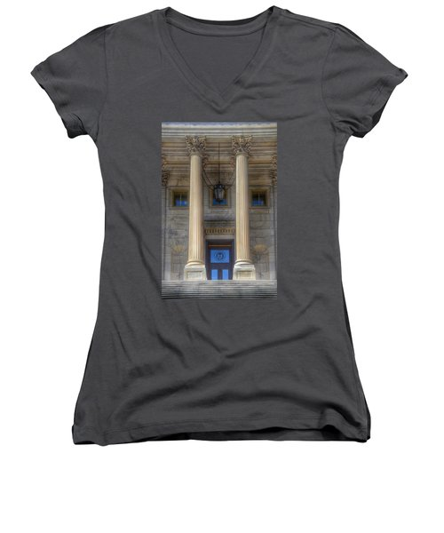 United States Capitol - House Of Representatives  Women's V-Neck (Athletic Fit)