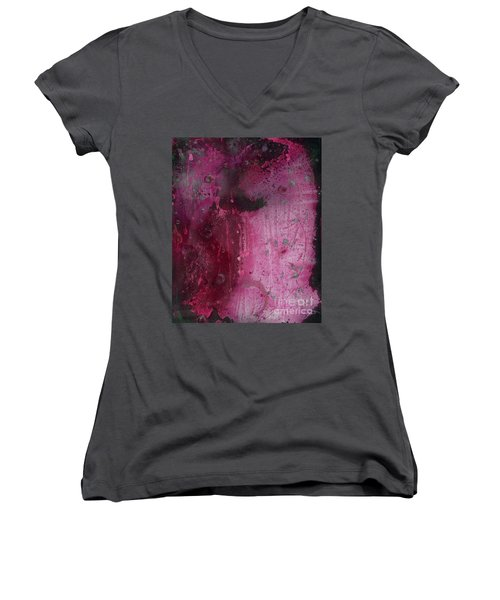 Universal Goddess 1 Of 3 Women's V-Neck T-Shirt (Junior Cut) by Talisa Hartley