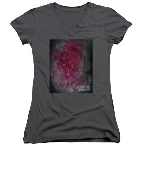 Universal Goddess 3 Of 3 Women's V-Neck T-Shirt (Junior Cut) by Talisa Hartley