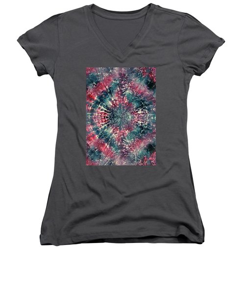 4-offspring While I Was On The Path To Perfection 4 Women's V-Neck (Athletic Fit)