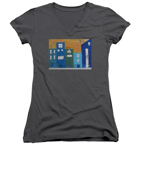 Uptown Fun Women's V-Neck (Athletic Fit)